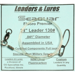 130# 24in Seaguar Fluoro Premier Ball Bearing