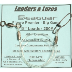 200# 18in Seaguar Fluoro Premier Big Game Rosco