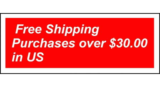 FREE SHIPPING OVER $30.00