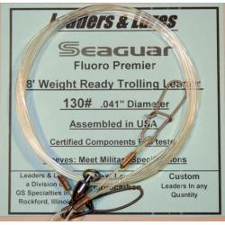 130lb 8'-0 Seaguar Fluoro Premier Trolling Leader