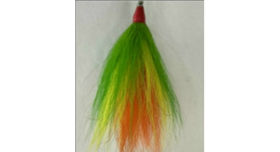 "3 Tie Bucktail 4"" to 6"" Tied Hair"