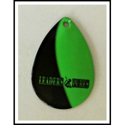 Mag #8 Colorado Leaders and Lures Shadow Blade Black on Green