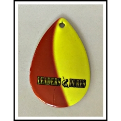 Mag #8 Colorado Leaders and Lures Shadow Blade Red on Yellow