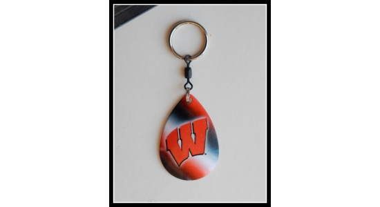 Wisconsin - Key Chain  (Officially Licensed Product)