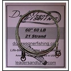 "60"" 80lb 21 Strand & Ring"