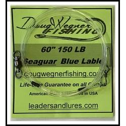 """60"""" 150lb Seaguar Blue Lable & Stay-Loc"""