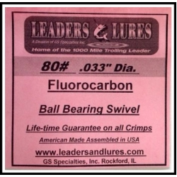 80# Fluorocarbon Leaders