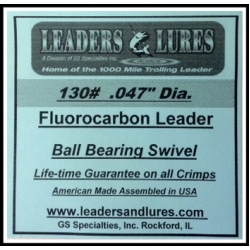 130# Fluorocarbon Leader
