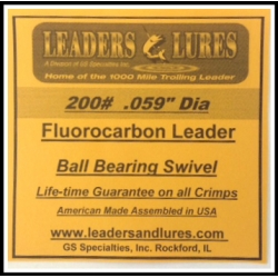 200# Fluorocarbon Leaders