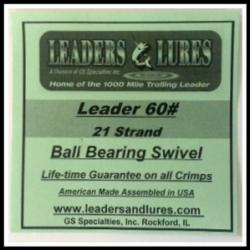 60# 21 Strand Steel Leader