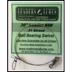 60#  36in  21 Strand  Ball Bearing