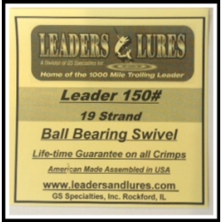 150# 19 Strand Steel Leaders