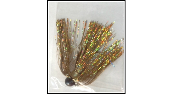 New for 2017 Tinsel Walleye Jig's & Skirts