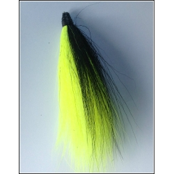 Florescent Yellow With a Black Stripe