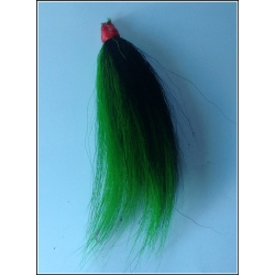 Dark Green with a Black Stripe