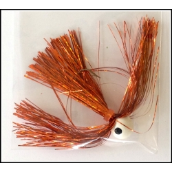 1/2 oz Walleye Jig Holo Orange