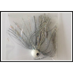 1/2 oz Walleye Jig Holo Silver