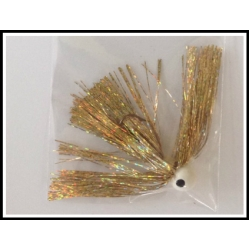 3/3 oz walleye Jig Holo Gold