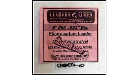 Leader 3 Pack  $14.99 80# Fluorocarbon