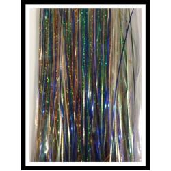"32"" 450 strand Holo Blue, Holo Green, Holo Copper, Fishscale Pearl"