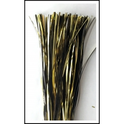 "32"" 450 strand Gold/Black Solid blend"