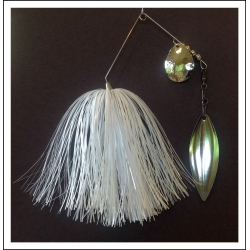 Spinnerbait - Snow White 3/4 oz. .051 Wire