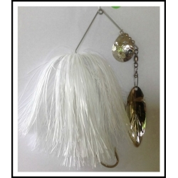 Spinnerbait 1 oz. .062 Wire Snow White