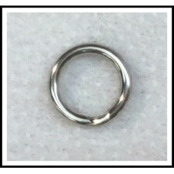 25 ea. Stainless Steel Split Ring .051""