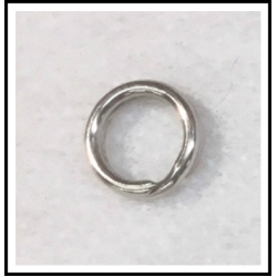25 ea. Stainless Steel Split Ring .045""