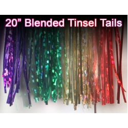 20 inch Blended Tinsel Hank