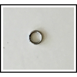 "10 ea. Welded Solid Stainless Steel Ring .040"" x .275"""